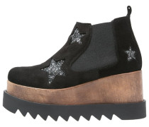 EVELYN Plateaustiefelette black