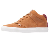 CHUNK CAMP OUT Sneaker high wheat/wine