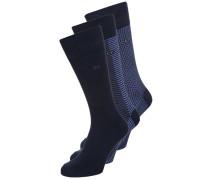 DMITRY 3 PACK Socken navy