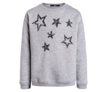 NIHAWO Sweatshirt grey melange