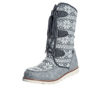 HiTec THOMAS 200 I Snowboot / Winterstiefel charcoal/snow flake