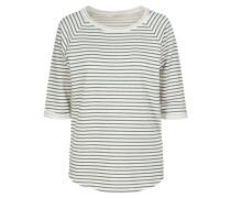 ELISA Sweatshirt off whitedark green