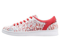 BADASS Sneaker low white/red