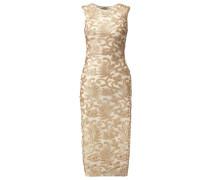 RENOIR Cocktailkleid / festliches Kleid gold/nude