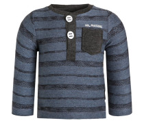 CONCORD Langarmshirt blue melange
