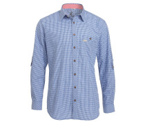 DENVER SLIM-FIT - Hemd - blau