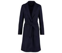 Wollmantel / klassischer Mantel navy blue