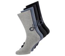 4 PACK Socken denim heather/stonewash heather/blue oxford