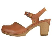 High Heel Pumps - brown