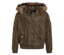 SHADOW Winterjacke dark khaki