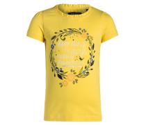 TShirt print gelb