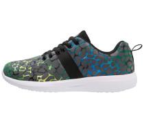 Sneaker low royal/green/black
