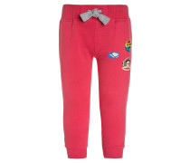 BUTTON - Jogginghose - rouge red