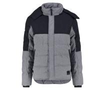 Winterjacke mottled dark grey