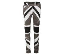 UNION JACK Jeans Skinny Fit black/grey