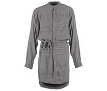 Blusenkleid print grey