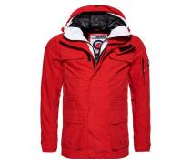 SEA STORM Regenjacke / wasserabweisende Jacke rouge