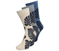 3 PACK Socken grey/blue