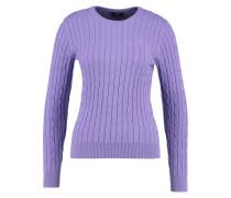 Strickpullover - aster purple