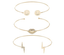 MATTICOLI 3 PACK - Armband - gold-coloured