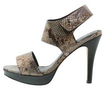 High Heel Sandaletten bronze