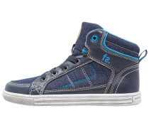 Sneaker high navy/blue