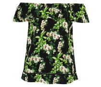 TROPICAL BOTANICAL - Bluse - black