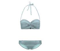 Bikini mint/grey