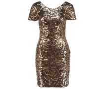 SATURN Cocktailkleid / festliches Kleid gold