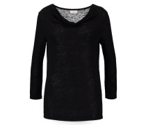 VISUMI - Langarmshirt - black