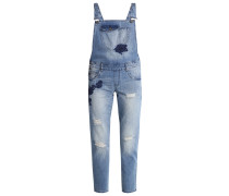 ONLKIM Latzhose medium blue denim