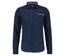 DEAN SLIM FIT Hemd navy