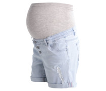 MLALI - Jeans Shorts - light blue denim