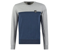 TRIDENT Sweatshirt navy/grey chine