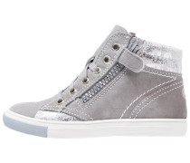 Sneaker high rock/silver
