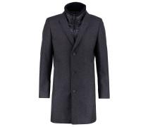 MAIKEL Wollmantel / klassischer Mantel anthrazit