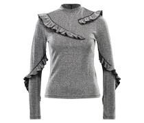 Langarmshirt silver