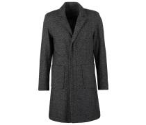 LE BON Wollmantel / klassischer Mantel black