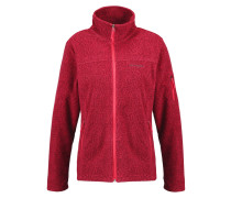FAST TREK Fleecejacke red camellia