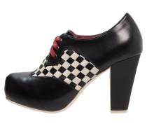 ANGIE P High Heel Pumps black/cream