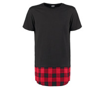 TShirt print black/black/red