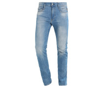 ANBASS - Jeans Slim Fit - blue denim