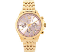 CROSSROAD Chronograph goldcoloured/rose