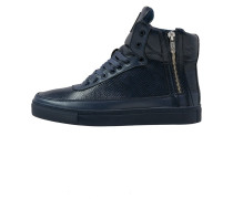 PYTHON MID Sneaker high navy