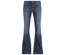 PIA Jeans Bootcut dark brushed
