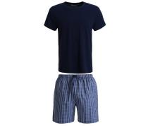 SET Nachtwäsche Set blue