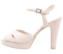 Plateausandalette soft pink