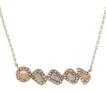 GWOAWIA - Halskette - rose/mint/gold-coloured