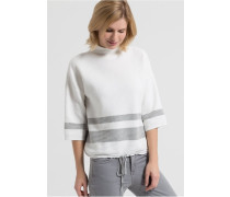LIEKE Strickpullover off white