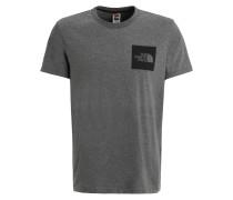 FINE - T-Shirt basic - medium grey heather